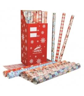 Papír balící vánoční 700x5000 ARIA