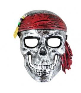 Maska karnevalová kostra Pirát