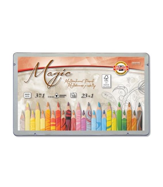 Pastelky Magic vícebarevné 3408 23+1