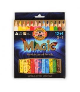 Pastelky Magic vícebarevné 3408/ 12+1