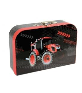 Kufřík dětský na malířské potřeby 35cm Traktor