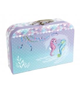 Kufřík dětský na malířské potřeby 35cm Hvězdičky