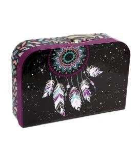 Kufřík dětský na malířské potřeby 35cm Mandala
