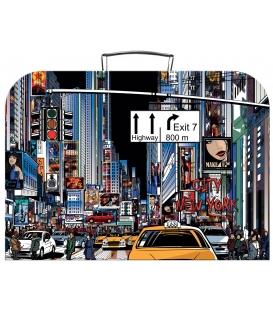 Kufřík dětský na malířské potřeby 35cm New York