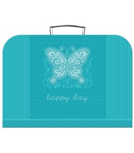 Kufřík dětský na malířské potřeby 35cm Happy Day