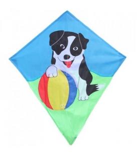 Drak textilní Pes s míčem 70x60cm