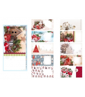 Obálky poštovní DL vánoční motiv
