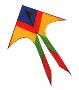 Drak textilní Šipka 90x155cm