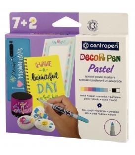 Značkovač 2738/7+2 Decor pen Pastel
