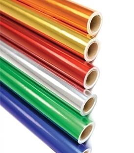 Balící papíry jednobarevné
