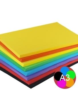 Xerografický papír A3 barevný