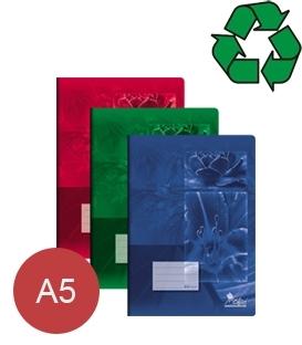 Sešity z recyklovaného papíru A5