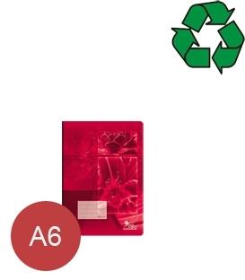 Sešity z recyklovaného papíru A6