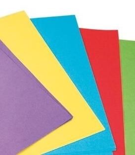 Barevné papíry