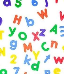Samolepky – čísla a písmena